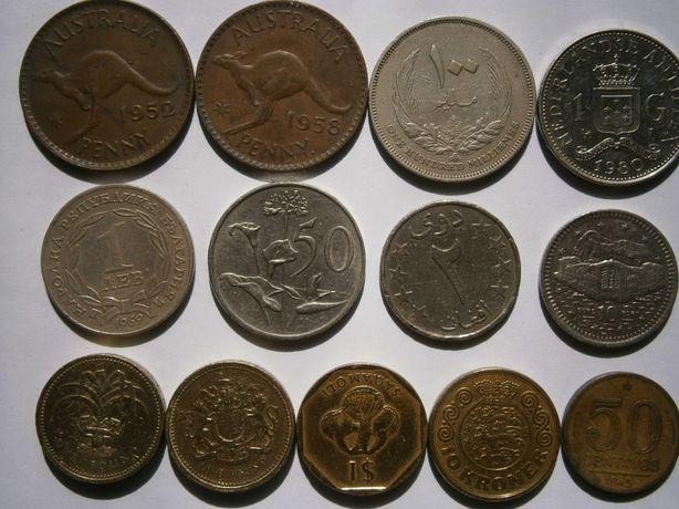 Монеты микс 13шт
