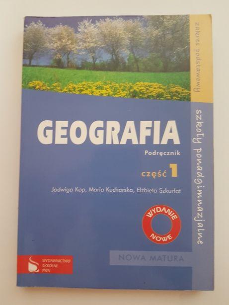 GEOGRAFIA podręcznik PWN część 1 liceum technikum