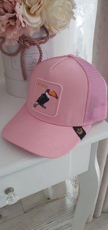 Goorin bros czapka z daszkiem różowa premium nowa