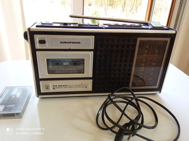 radiomagnetofon Grundig