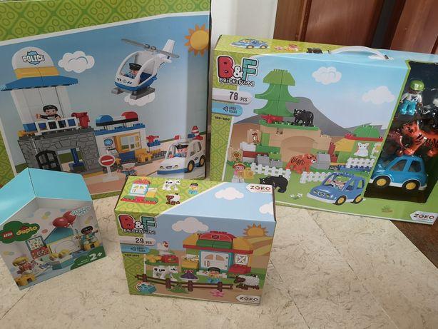 4 caixas Legos caixas fechadas