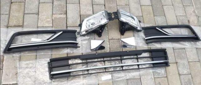 Решотки в бампер, Телевизор,бампер,передняя панель VW PASSAT B7 В8 USA