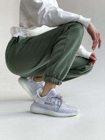 Кроссовки женские ТОП Качество!!!Adidas Yeezy 350 full reflective Кеды