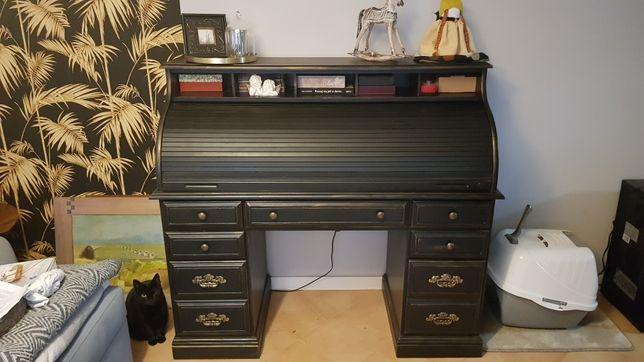 Biurko stylizowane vintage po renowacji