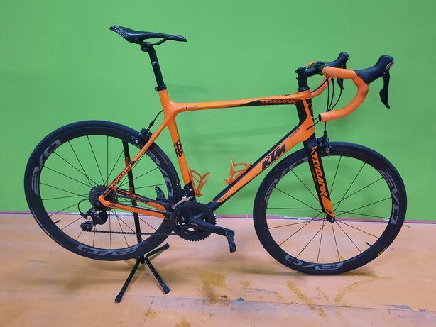 Ktm de carbono 59 com rodas de carbono