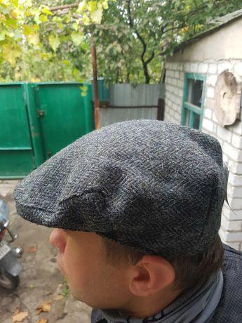 Кепка Harris tweed на большую голову