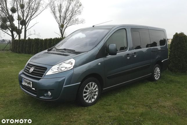 Fiat Scudo 8 osobowy panorama long
