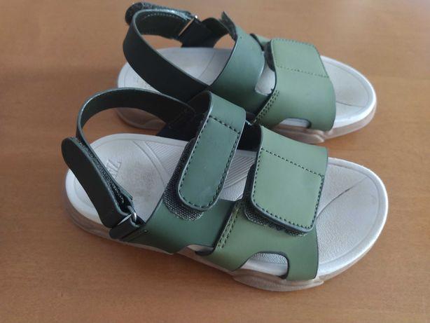 Sandálias Verdes, TAM 27, Zara
