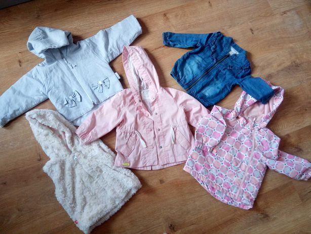Kurtki rozmiar 80 różowa Zara, cool club zestaw wiosna
