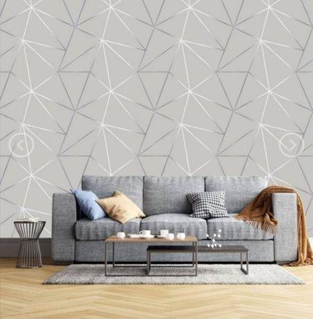 Venda e colocação de papel de parede