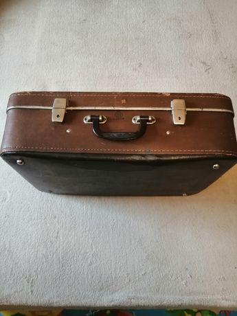 Раритетный коричневый чемодан УРСР  1971 г. Винтаж