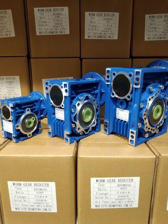 Мотор - редуктор червячный RDVM RDVG NMRV , цилиндрический Motovario.