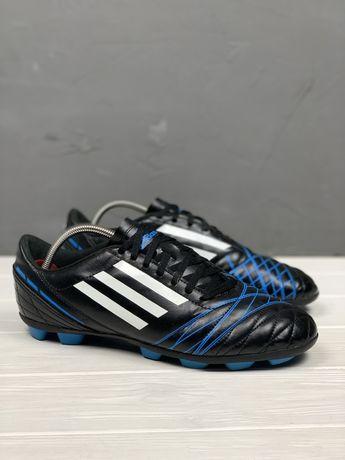 Бутсы Adidas original 45 копочки бампы футбольные мужские 29см