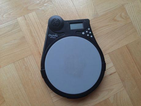 """Cherub DP-950 - pad perkusyjny 7,5"""" z licznikiem uderzeń i metronomem"""