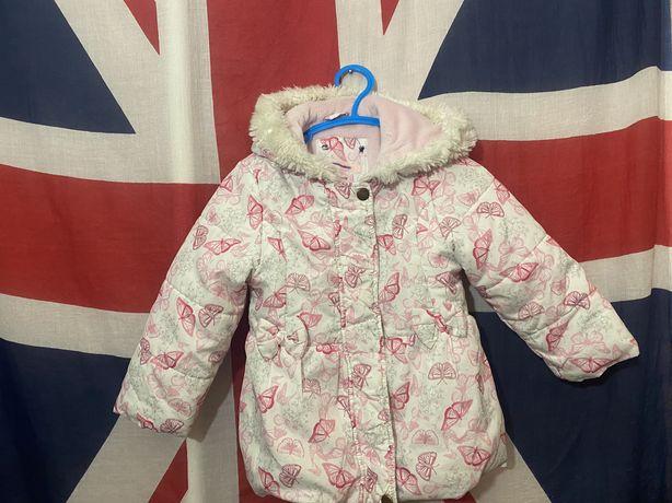 Суперская детская весенняя курточка 2-3 года
