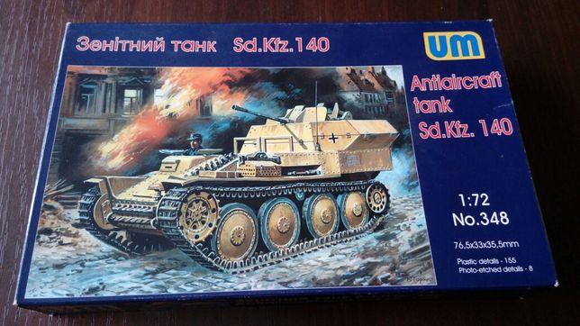 Model plastikowy Antiaircraft tank Sd. Kfz. 140 1:72 UM