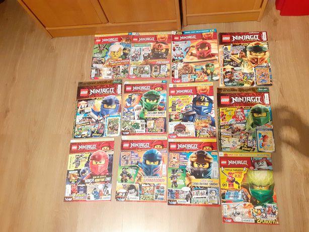 Lego Ninjago gazetka  czasopismo dla dzieci