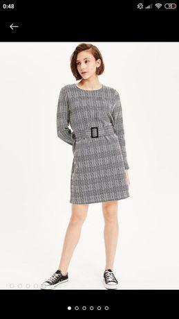 Тёплое школьное платье на девочку подростка De Facto