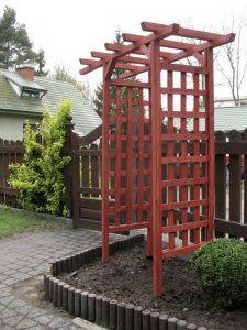 pergola drewniana ogrodowa