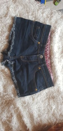 Szorty jeansowe. XS