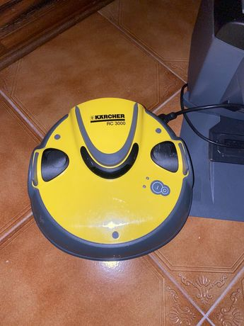 Aspirador Robot Kärcher RC 3000 Preto, Amarelo