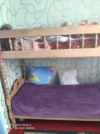 Ліжко двох поверхове