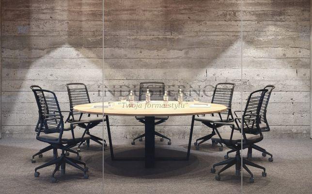 Stół industrialny okrągły - AUSTIN Pro