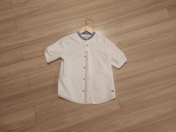 Koszula elegancka chłopięca biała 140 ZARA