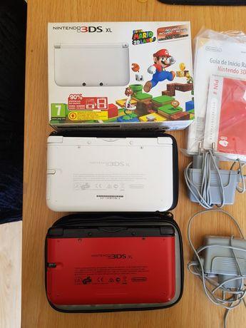 Nintendo 3DS XL em caixa e sem caixa