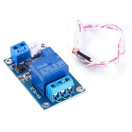 Modulo relé photoresistor ( sensor de luz, fotocelula)