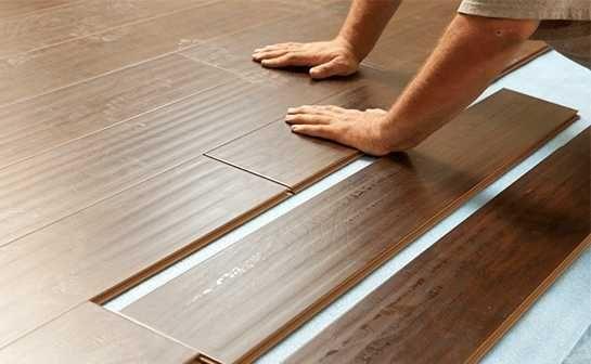 Colocação piso flutuante / laminado
