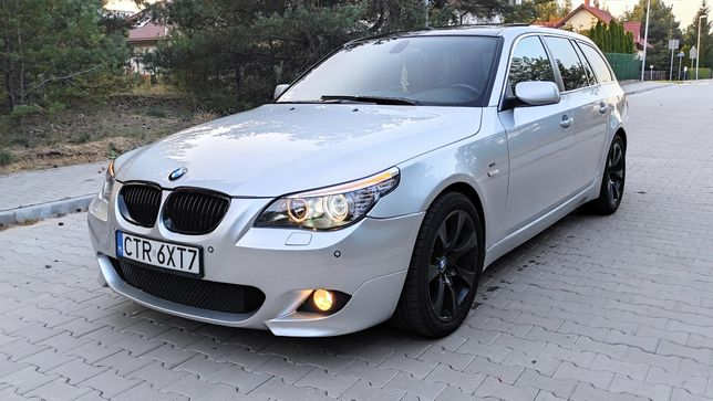 BMW E61 3,0D LIFT M-pakiet panorama android 2007r