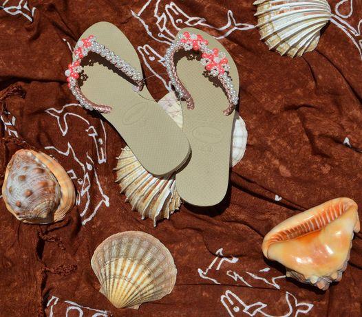 Sandálias Havainas decoradas modelo BHD02