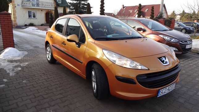 Peugeot 207 1.4 88km Pb 2006 rok przebieg-97tyś.km,Klima I wł.Salon PL
