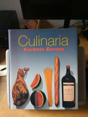 Książka culinaria kuchnie Europy, kucharska, kulinarna 640 stron