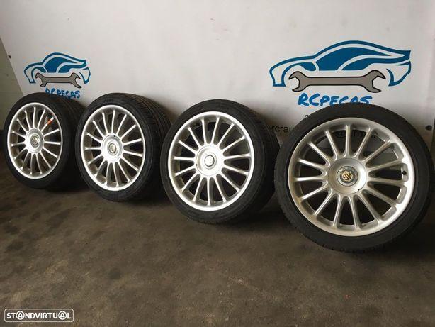Jantes 17 MG Rover 4X100 7J ET45 Com pneus
