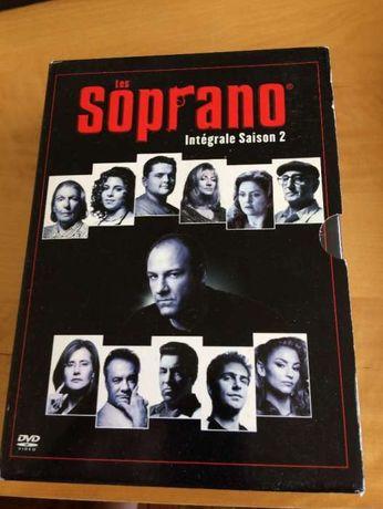 DVDs Os Sopranos séries 2 e 4