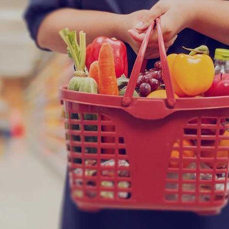 Serviço de compras supermercado ao domicílio