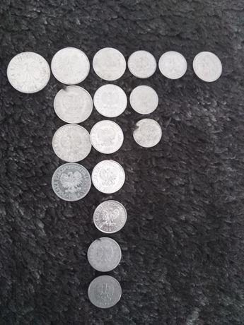 Monety PRL 5 zł, 2 zł, 1 zł, 50 gr, 20gr, 10 gr