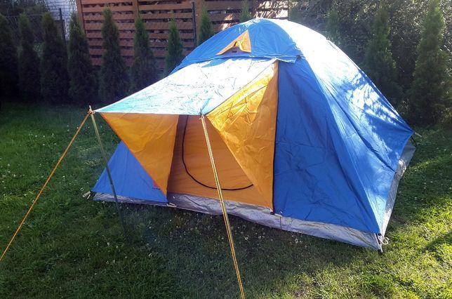 Duży namiot iglo 3 osobowy 2,4 x 2,1 m tropik