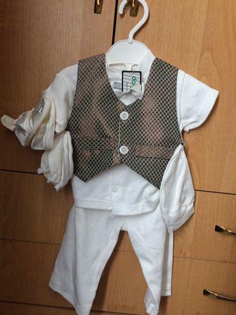 Новый костюмчик на выписку, крещение