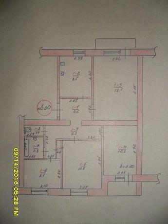 продам 4-х комн квартиру в Славянске