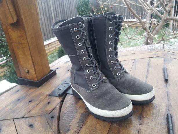Ботинки на Gore-Tex зима утепленные как Merrill Timberland TNF