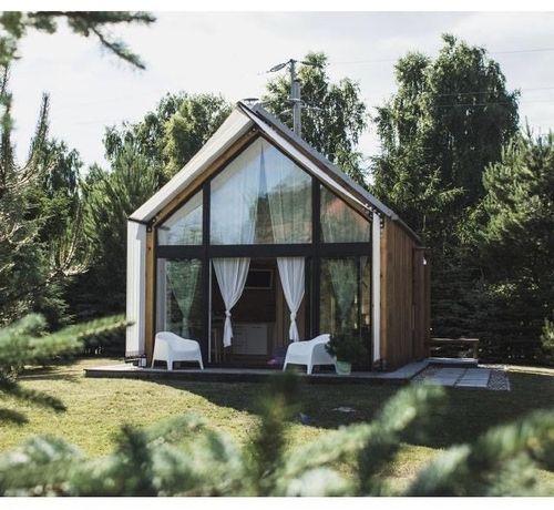 przytulny nocleg domek stodoła nad J.Białym Okuninka z dużą działką