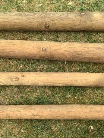 Postes madeira torneada