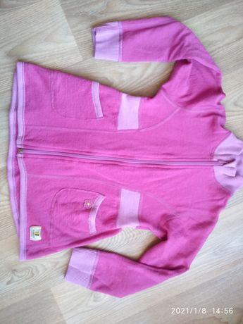 Janus merino wool sweterek  bluza dla dziewczynki  roz 116/122 ideal