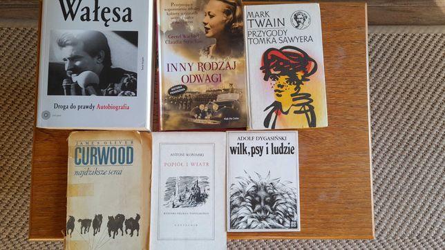 Książki Mark Twain, Curwood i inne - oddam za kawę!