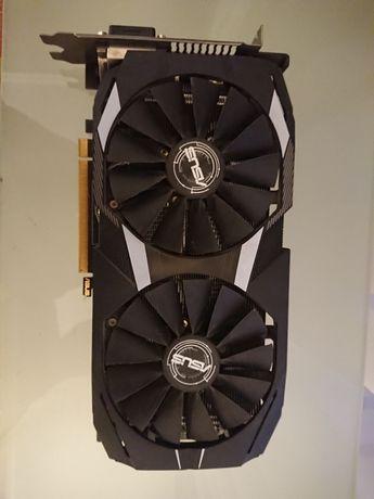 Выдеокарта Asus RX 580 dual 4gb