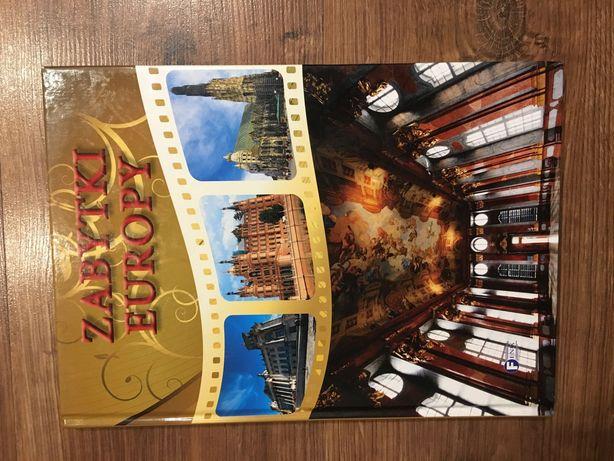 Zabytki Europy, książka