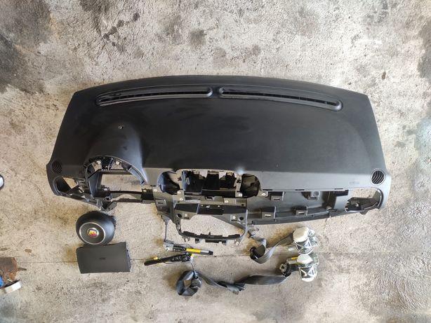 Abarth 695 500 fiat poduszki airbag deska zestaw poduszek lift
